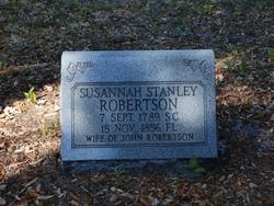 Susannah <i>Stanley</i> Robertson