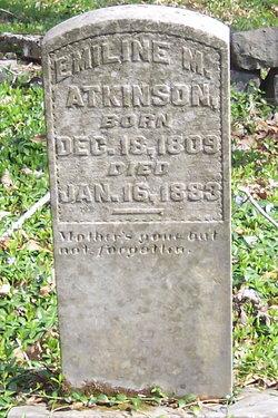 Emeline M. <i>Lewis</i> Atkinson