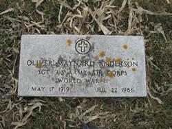 Oliver Maynard Anderson