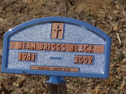 Jean <i>Briggs</i> Black