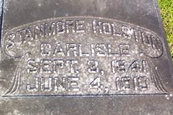 Stanmore Holston Carlisle, Sr