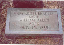 Mary Agnes <i>Bradley</i> Allen
