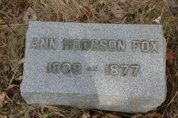 Ann <i>Hodgson</i> Fox