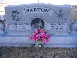 Lola <i>Owens</i> Barton