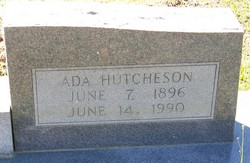 Ada Ellefair <i>Hutcheson</i> Ard