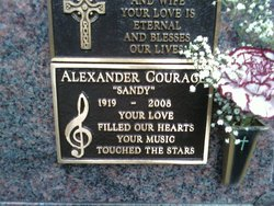 Alexander Sandy Courage
