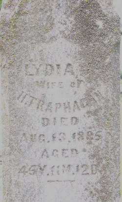 Lydia Jane <i>Spencer</i> Traphagan