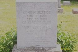 Mary Elizabeth <i>Webster</i> Justice