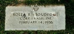 Rolla Raymond Proudfoot