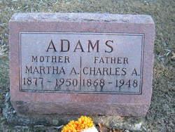 Martha Adeline <i>Roney</i> Adams