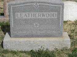 Cora Ethel <i>Sanders</i> Leatherwood