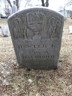 Hester Kelsey <i>Scovill</i> Rich