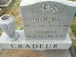Lillie Mae <i>Motte</i> Cradeur