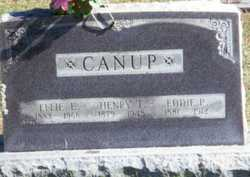 Ethel Elizabeth Effie <i>Mustain</i> Canup