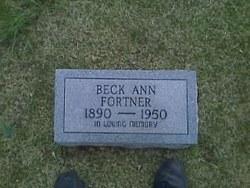 Becky Ann <i>Scott</i> Fortner