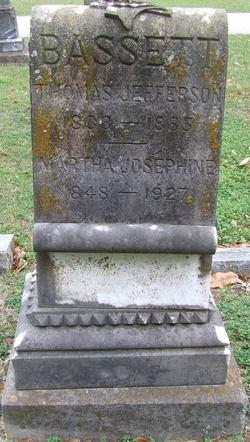 Martha Josephine <i>Roberson</i> Bassett