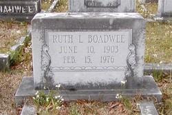 Ruth L Boadwee