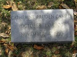 Catherine <i>Pruden</i> Campen
