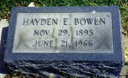 Hayden Eugene Bowen