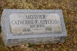 Catherine F <i>Jefferson</i> Flumerfelt