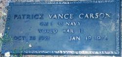 Patrick Vance Carson