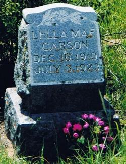 Lella Mae Carson