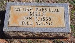 William Barsillae Mills