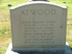 Caroline <i>Shaw</i> Atwood