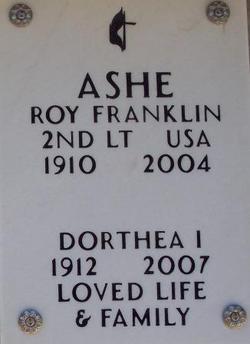 Roy Franklin Ashe