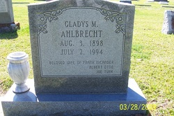 Gladys M. Ahlbrecht