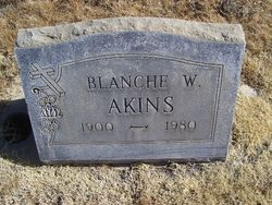 Blanche W. Akins