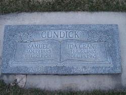 Ida <i>Crane</i> Cundick