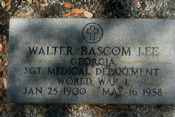 Walter Bascom Lee
