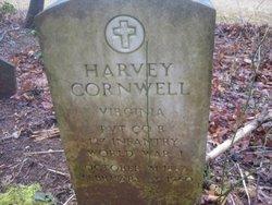 Pvt Harvey Cornwell