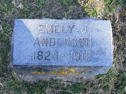 Emely Jane <i>Davis</i> Anderson