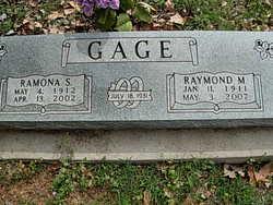 Raymond Malcom Gage
