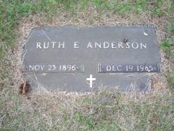 Ruth E Anderson