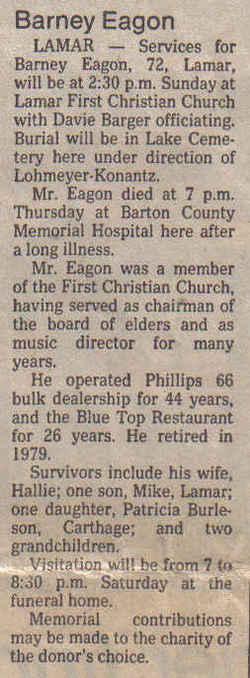 Barney P. Eagon