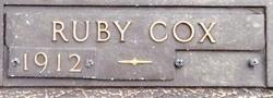 Ruby Lee <i>Cox</i> Moon