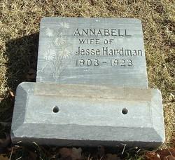 Annabell <i>Pettett</i> Hardman