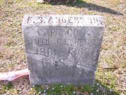 Capt Robert Sanders Anderson