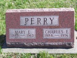 Mary E. <i>Hittle</i> Perry