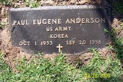 Paul Eugene Anderson