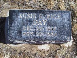 Susie E. <i>Rice</i> Day
