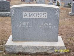 Ida R <i>Brown</i> Amoss