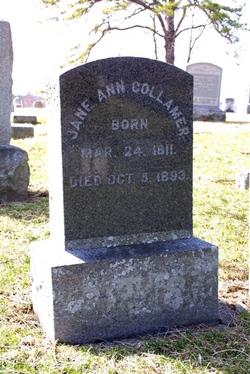 Jane Ann <i>Newton</i> Collamer