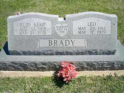 Ruby <i>Kemp</i> Brady