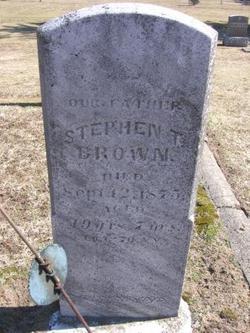 Stephen T Brown