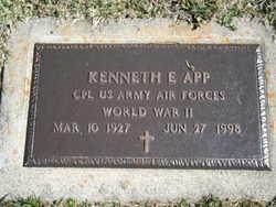 Kenneth E App