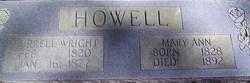Burrell Wright Howell